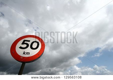 Traffic signs and information signs used in transportation by road