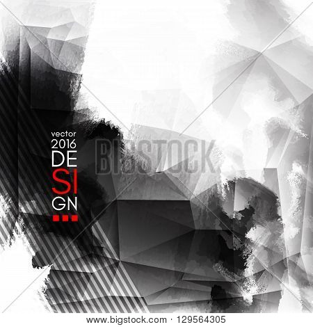 Abstract Ink Decoration. Splatter Border Design. Ink Splatter Decoration. Abstract Ink Border. Splatter Decoration Design. Vector Illustration.
