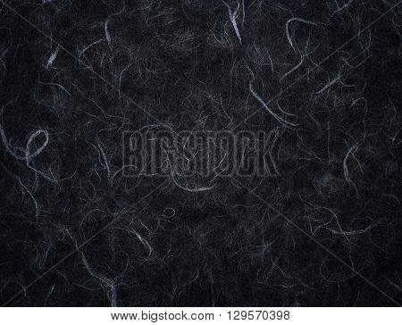 texture of black rice paper background