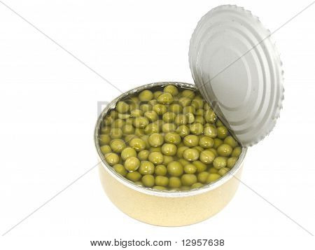 Can With Peas