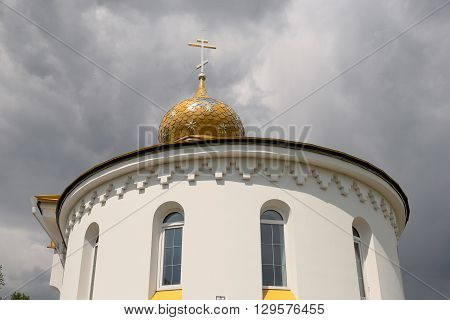Church Of St. Nicholas In The Village Danilovichi Of Vetka District, Gomel Region, Belarus