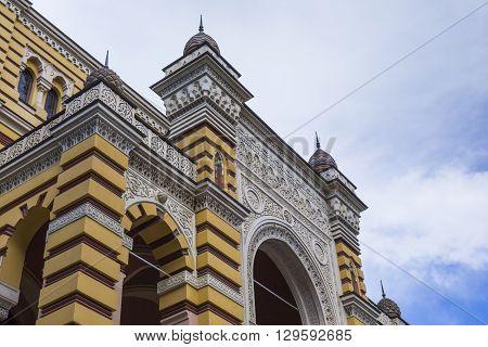 Tbilisi, Georgia - May 07: The Exterior Of Renovated Tbilisi State Opera House On Rustaveli Avenue I