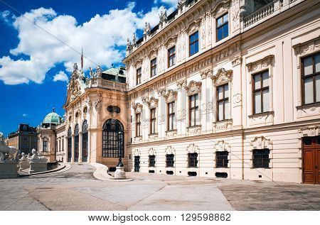 landmark Belvedere is a historic building complex in Vienna Austria, Europe
