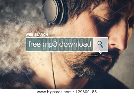 Free mp3 download web search bar glossary term on world wide web network
