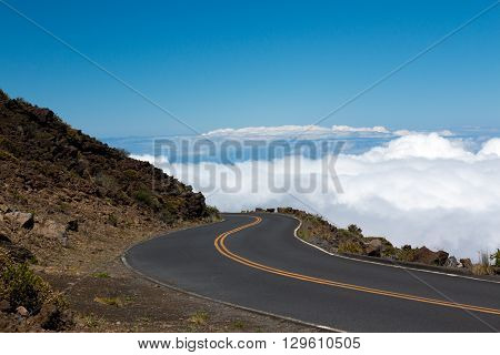 Road In The Clouds