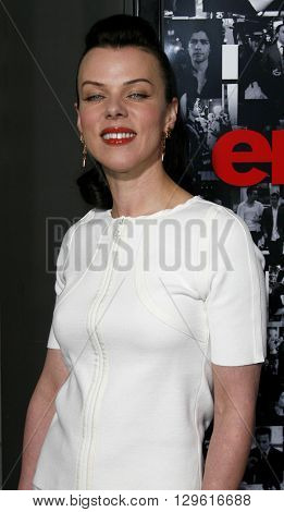 Debi Mazar at the season 3 premiere of HBO's 'Entourage' held at the Cinerama Dome in Hollywood, USA on April 5, 2007.