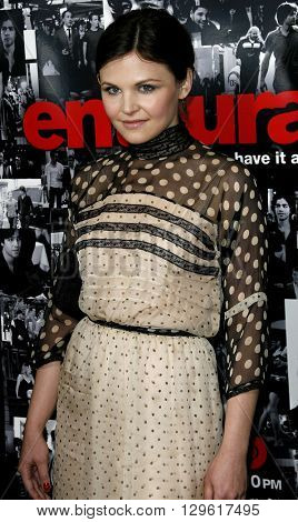 Ginnifer Goodwin at the season 3 premiere of HBO's 'Entourage' held at the Cinerama Dome in Hollywood, USA on April 5, 2007.