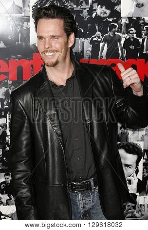 Kevin Dillon at the season 3 premiere of HBO's 'Entourage' held at the Cinerama Dome in Hollywood, USA on April 5, 2007.