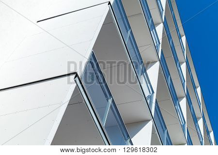 Abstract Fragment Of Modern White Architecture