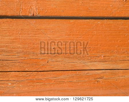 old brown wooden board background. Natural texture.