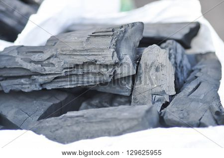 charcoal or dry cell in the bag