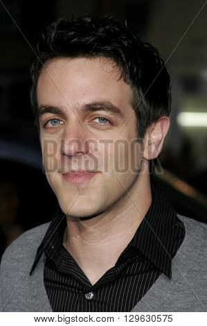 B.J. Novak at the Los Angeles premiere of 'Blades of Glory' held at the Mann's Chinese Theater in Hollywood, USA on March 28, 2007.