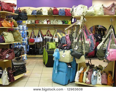bolsas en tienda