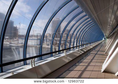 bagration's bridge. moscow city