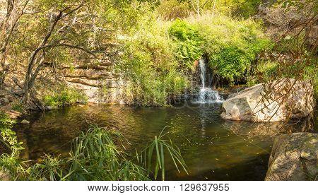 Botswana Waterfall