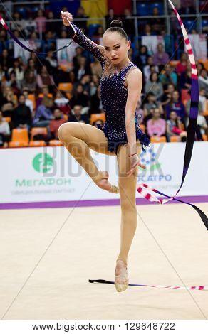 Sabina Asirbayeva, Kazakhstan. Ribbon