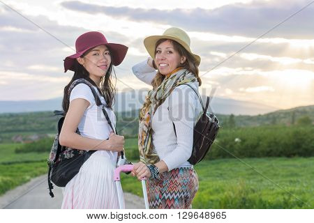 Girlfriends On The Road