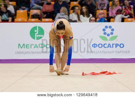 Anna Sebkova, Czech Republic. Ribbon
