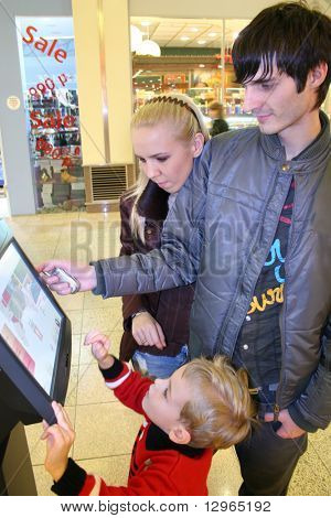 family and shop computer