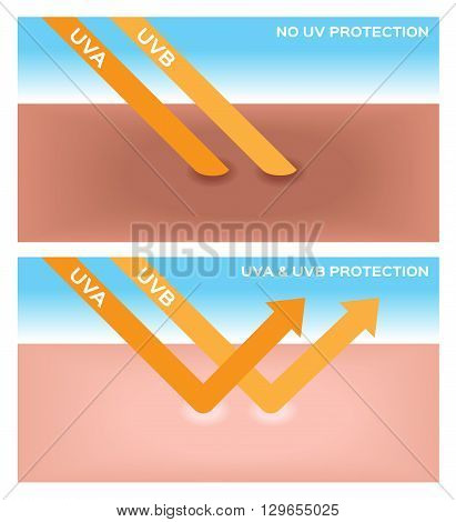 uv , uv-a and uv-b protection 2 versions