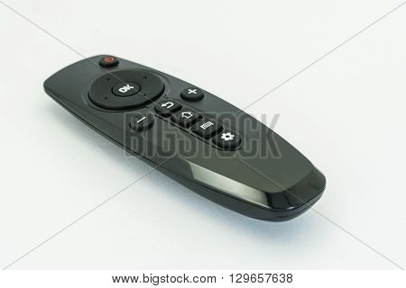 A remote control isolated on the background