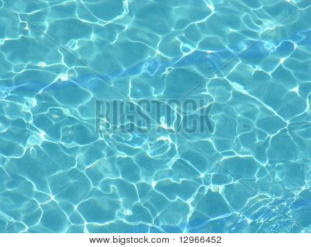 tropical pool water