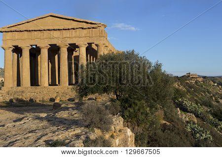 Segesta - The Doric temple in Sicily Italy