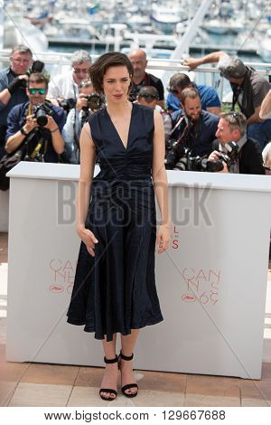 Rebecca Hall  at the photocall for 'The BFG (Le Bon Gros Geant - Le BGG)' , at the 69th Festival de Cannes.