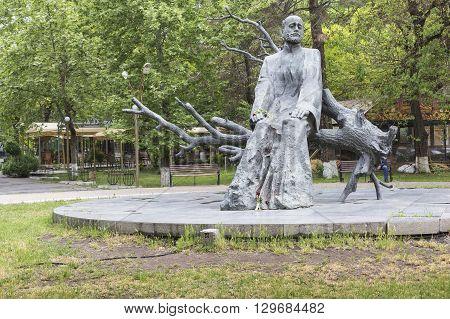 YEREVAN ARMENIA - May 07 2016: Komitas Monument in Yerevan