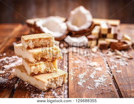 Wafer Sandwich Biscuits