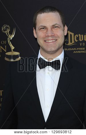 LOS ANGELES - APR 29: Jared Safier at The 43rd Daytime Creative Arts Emmy Awards at the Westin Bonaventure Hotel on April 29, 2016 in Los Angeles, CA