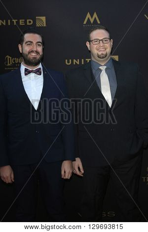 LOS ANGELES - APR 29: Brad Meyer, Eric Paulsen at The 43rd Daytime Creative Arts Emmy Awards at the Westin Bonaventure Hotel on April 29, 2016 in Los Angeles, CA