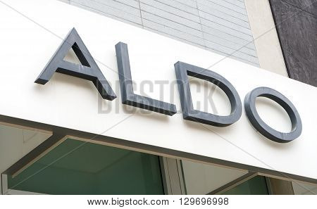 Aldo Retail Store Exterior And Logo