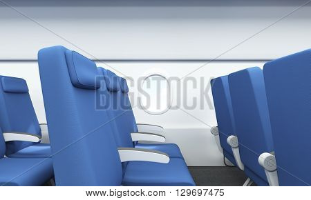 Airplane Interior Side