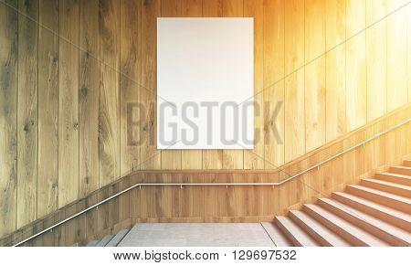 Blank Poster Toning