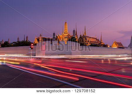 Temple Of The Emerald Buddha (wat Phra Kaew) In Bangkok, Thailand