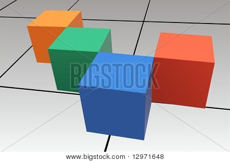 Würfel-Vektor