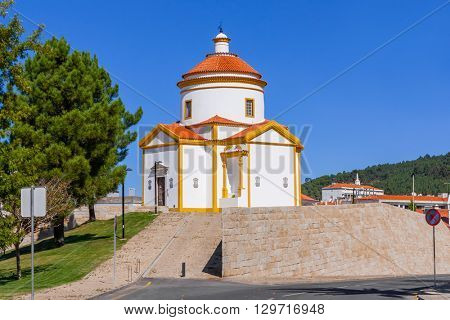 Calvario Church in Portalegre, Portugal. 17th and 18th century.