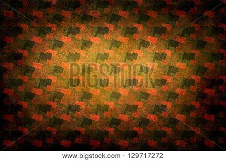 Seventies Decoration Background