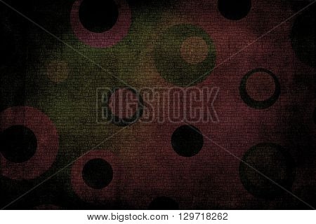 Dark Multicolor Dots Texture