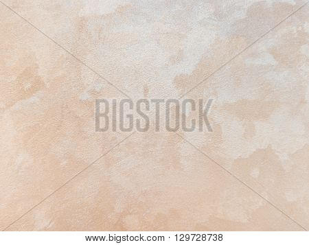 Beige Plastered Concrete Wall Background Texture Detail