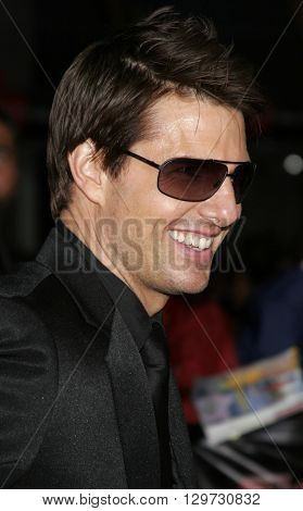 Tom Cruise at the Los Angeles Fan Screening of