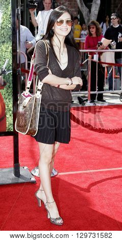 Ziyi Zhang at the Los Angeles premiere of 'Over The Hedge' held at the Mann Village Theatre in Westwood, USA on April 30, 2006.