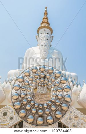 Wat pha sorn kaew Buddhist monastery and temple in Khao Kor Phetchabun province Thailand