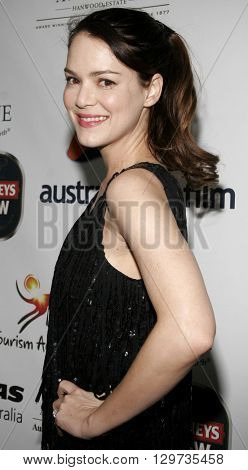 Jacinda Barrett at the Australians In Film 2006 Breakthrough Awards held at the Avalon Hotel in Beverly Hills, USA on May 11, 2006.