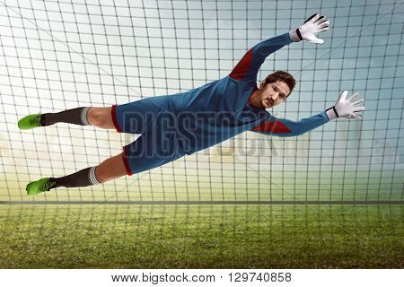 Goalkeeper Catching Ball