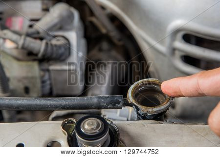Check Car radiator Car maintenance Check car yourself Check water in Car radiator self.