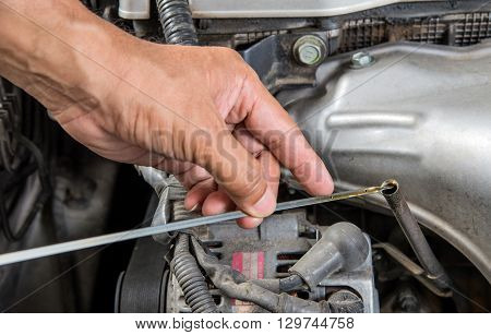 Car lubricator check Car maintenance Check car yourself Check lubricator self.