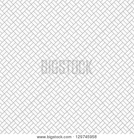 Seamless pattern. Modern simple minimal texture with thin lines. Regularly repeating geometrical tiled grid with rhombus diamond. Vector contemporary linear design