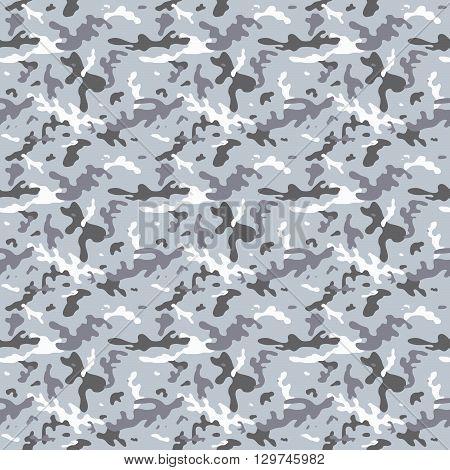 Seamless City Camouflage Pattern